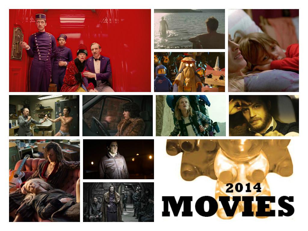 Best Movies 2014 Collage